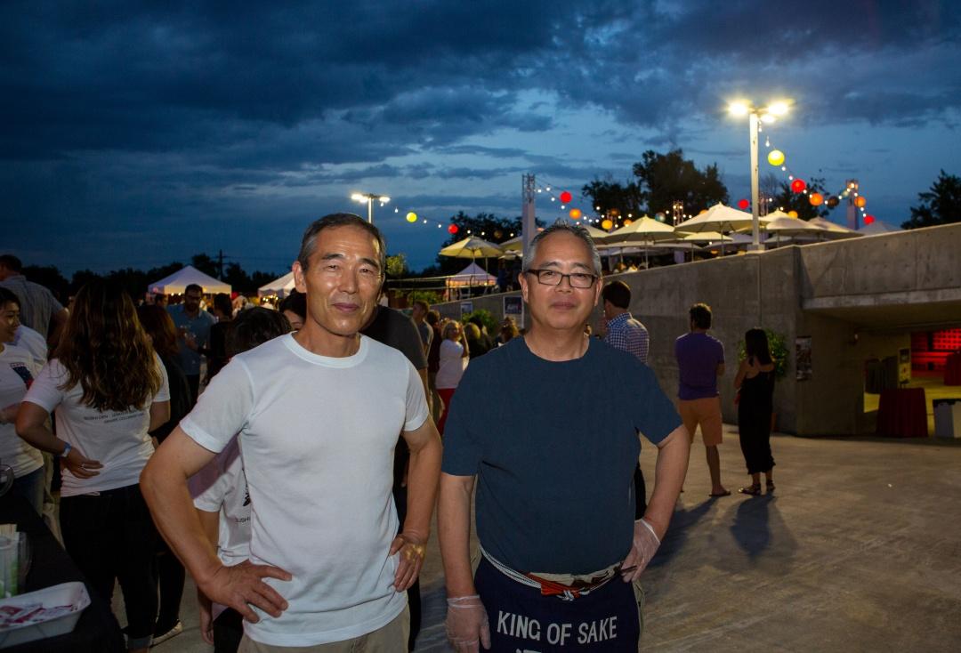 Toshi and Yasu Kizaki